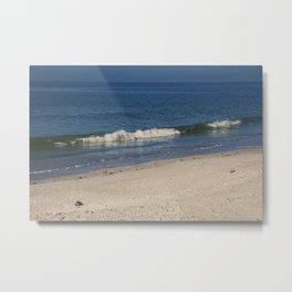 Waking Waves Metal Print