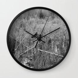 Through the Willows Wall Clock