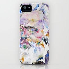 KARL MARX- watercolor portrait.2 iPhone Case