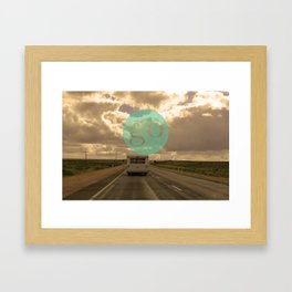 go play Framed Art Print