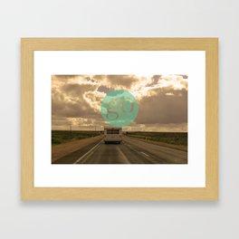 go play Framed Art Print