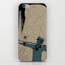 Moby dick iPhone Skin