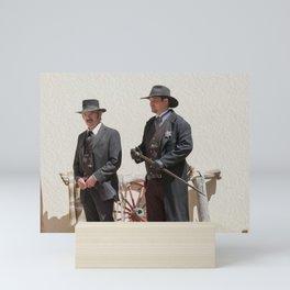 Old Western Sheriff Mini Art Print