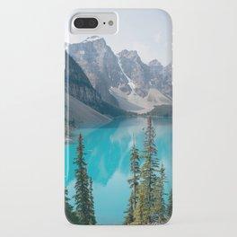 Moraine Lake - Trees iPhone Case