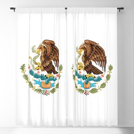 Mexican flag of Mexico Blackout Curtain