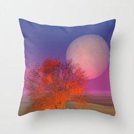 landscape somewhere else -11- Throw Pillow