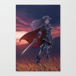 Daughter of Dragons Canvas Print