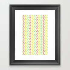Pretty as a fern  Framed Art Print