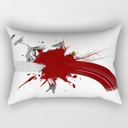 Broken Blood Martini Rectangular Pillow
