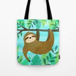 Cute Sloth Tote Bag