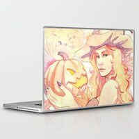 witchcraft Laptop & iPad Skins featuring Witchcraft by Souzou Inc