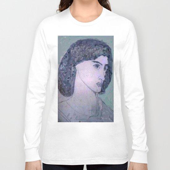 JANE BURDEN STUDY Long Sleeve T-shirt