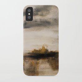 Steppe landscape iPhone Case