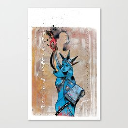 Give me Oil or Gie me Death Canvas Print