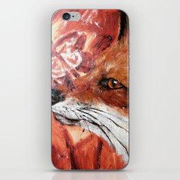 Fox Work in Progress iPhone Skin