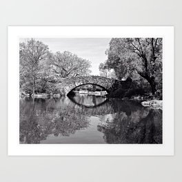 Gapstow Bridge Art Print