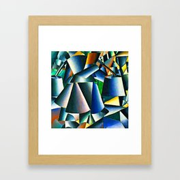 Kazimir Malevich Woman with Pails Framed Art Print