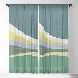 july meadow Sheer Curtain