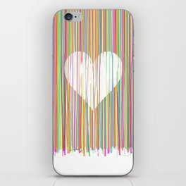 Heart. Valentines day gift. Valentine. Love. Romance. Feb 14th. iPhone Skin