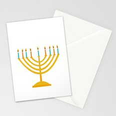 Holiday 2016: Menorah Stationery Cards