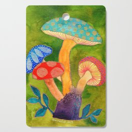 Toadstools Cutting Board