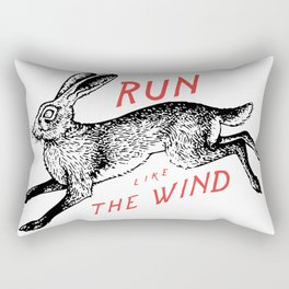 Run Like The Wind Rectangular Pillow