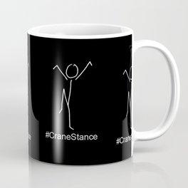Crane Stance Coffee Mug