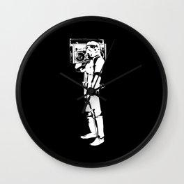 Boombox Trooper Wall Clock