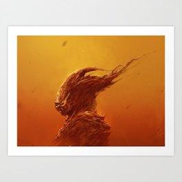 Thanatos Art Print
