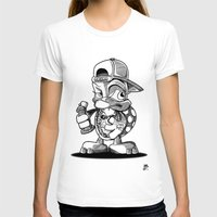 sea turtle T-shirts featuring turtle by ouchgrafix urban art