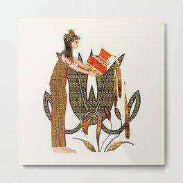 The Ancients Aquarius Metal Print