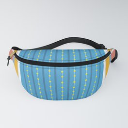 Freestyle Stroke   Aerial Illustration Fanny Pack