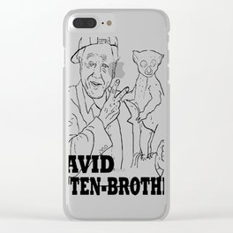 David Atten-Brother Clear iPhone Case