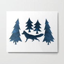 Fox Metal Print