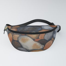 Pebbles on the shore Fanny Pack