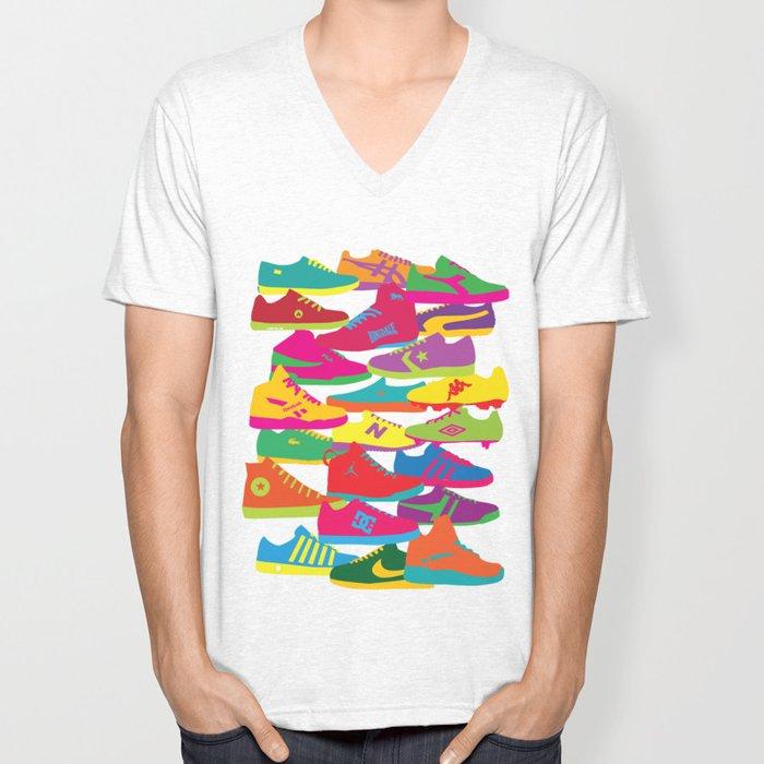 Sneakers Unisex V-Neck