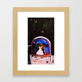 OP Rescue Laika Framed Art Print