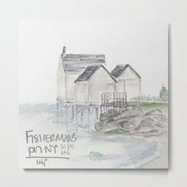 Fisherman's Point (South Portland, Maine) Metal Print
