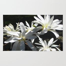 WHITE LILY Rug