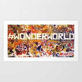 #Wonderworld Art Print