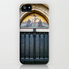Martin Luther's 95 Theses iPhone Case