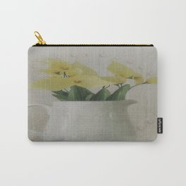 PITCHER OF FLOWERS Carry-All Pouch