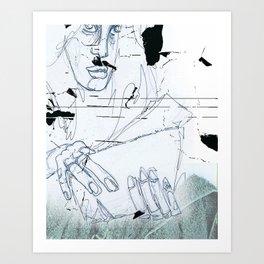 Normativität Art Print