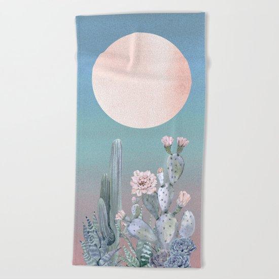 Desert Twilight by Nature Magick Beach Towel