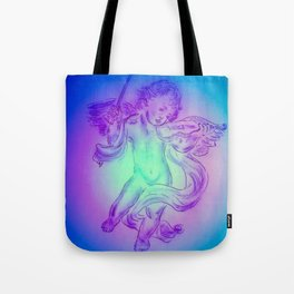 Heavenly apparition  Angel Music Tote Bag