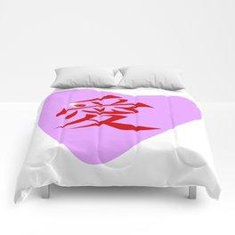 Chinese Love Heart Comforters