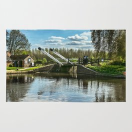Bridge 221 On The Oxford Canal Rug