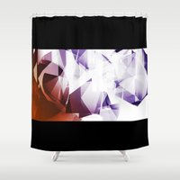 alchemy Shower Curtains featuring Alchemy Experiment 5 by garciarts