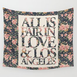 ALL IS FAIR Wall Tapestry