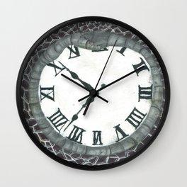 """OURoboros"" multimedia by Blake Lavergne Wall Clock"